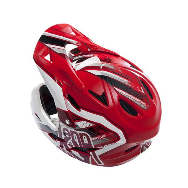 BMX Down hill helmet peak 2014 RED