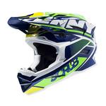 BMX Scrub helmet peak 2015 NAVY/GREEN
