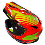 BMX Rocket Helmet Peak 2016 Neon Orange