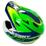 BMX Down hill helmet peak 2016 NAVY/NEON GREEN