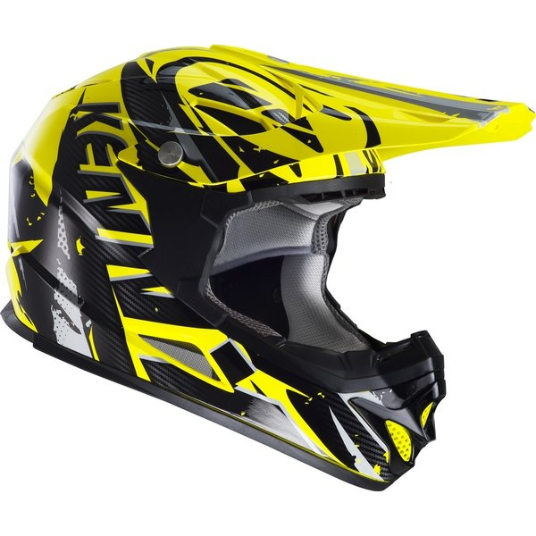 BMX Rocket helmet peak 2013 neon yellow