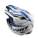 Track helmet peak 2014 adult BLUE