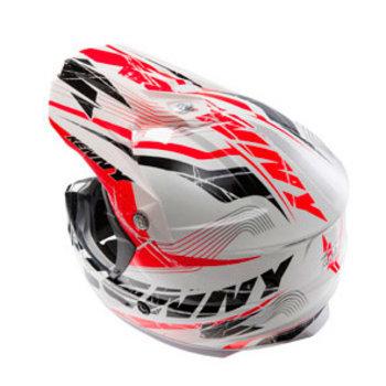 Track Helmet Peak 2014 Adult Black/Red