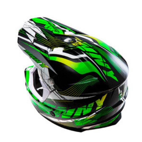 Track helmet peak 2014 adult NEON GREEN