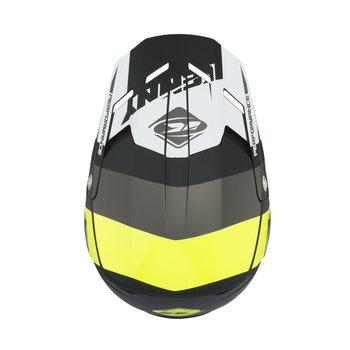 Performance helmet visor grey