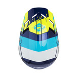 Performance helmet visor navy