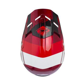 Performance helmet visor red candy