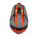 Track helmet visor grey