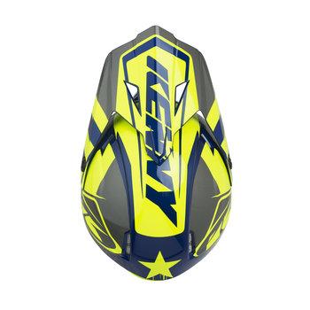 Track Helmet Visor Neon Yellow