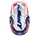 Scrub Helmet Visor Patriot