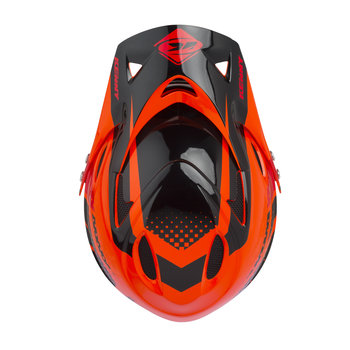 Downhill Helmet Visor Orange