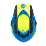 Downhill Helmet Visor Cyan