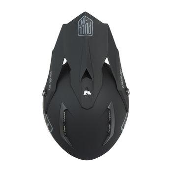 Solid Helmet Visor Black