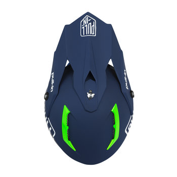 ADULT HELMET VISOR SOLID NAVY
