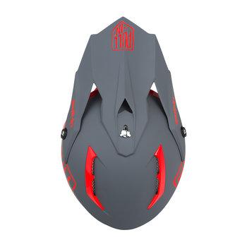 Solid Helmet Visor Red