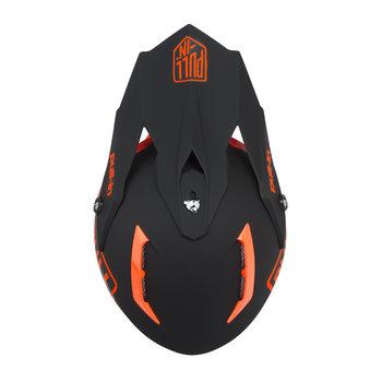 Solid Helmet Visor Orange