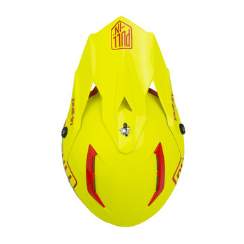 Solid Helmet Visor Neon Yellow
