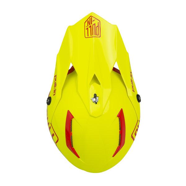Solid Helmet Visor Neon Yellow