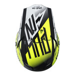 helmet peak adult BLACK/NEON YELLOW
