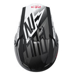 Helmet Peak Adult Grey/Black/Red
