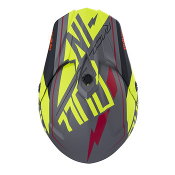 Helmet Visor Peak 18 Matt Neon Yellow