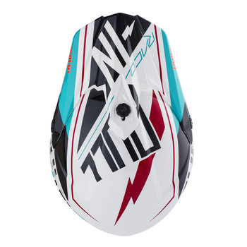 Helmet Visor Peak 18 Aqua