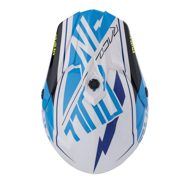 Helmet Visor Peak 18 Cyan