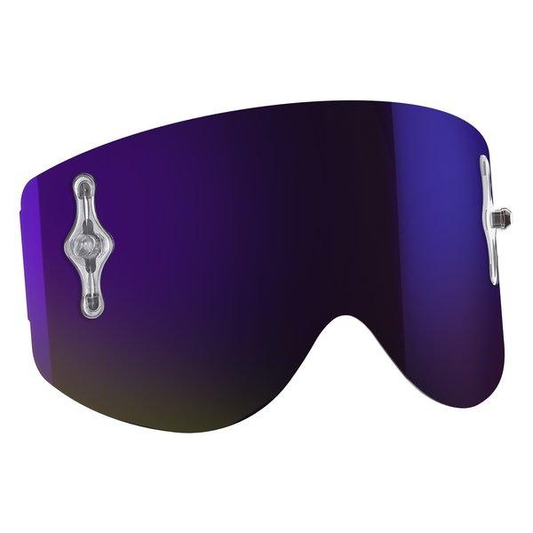 Recoil Xi Single Works Chrome Lenses Purple