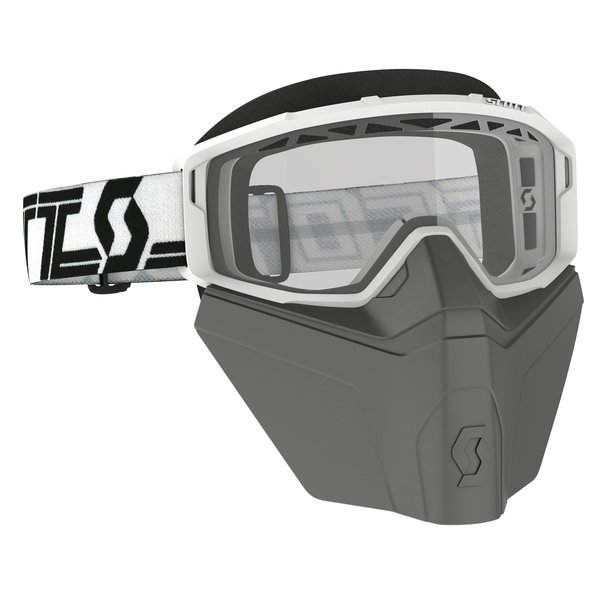 Goggle Primal Safari Facemask White/Black