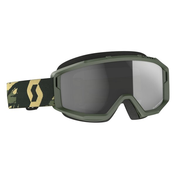 Goggle Primal Sand Dust Camo Kaki (For Desert And Beach) Dark Grey Lens