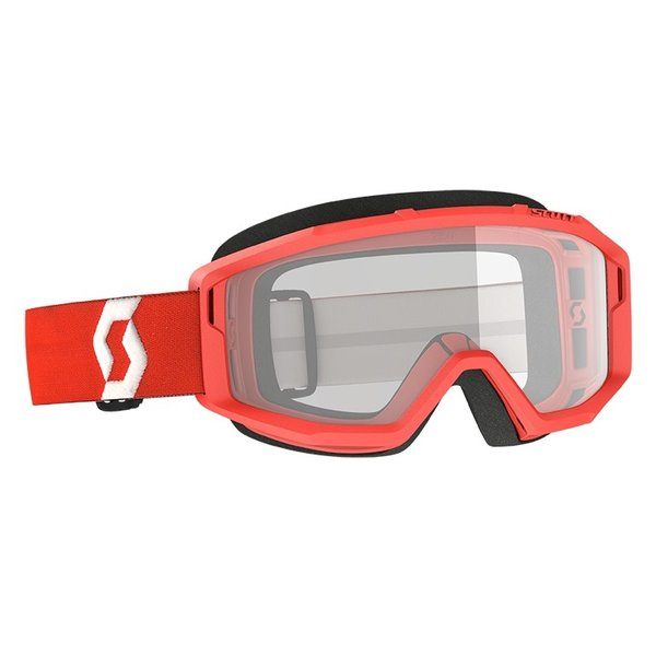 Goggle Primal Clear Red