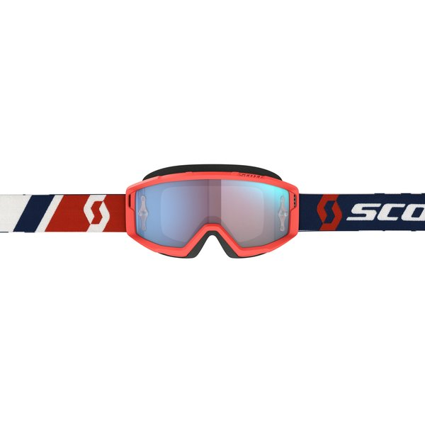 Goggle Primal Red/Blue Blue Chrome Works