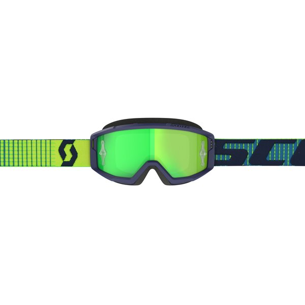 Goggle Primal Blue/Yellow Green Chrome Works