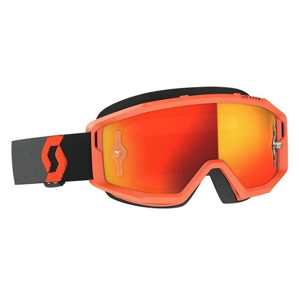 Goggle Primal Orange/Black Orange Chrome Works
