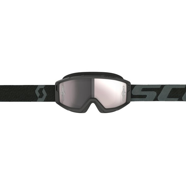 Goggle Primal Black Silver Chrome Works
