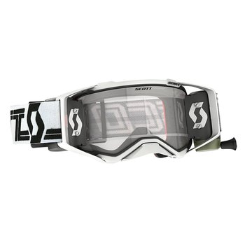 Goggle Prospect Super WFS White/Black (Double Antistick Lens)