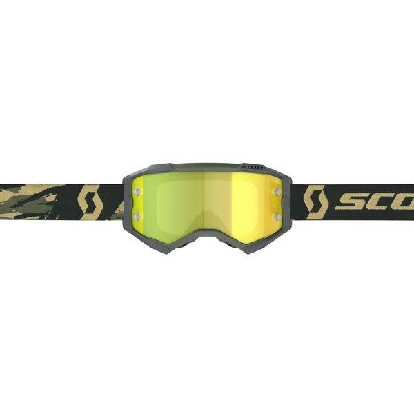 SCO Goggle Fury camo kaki
