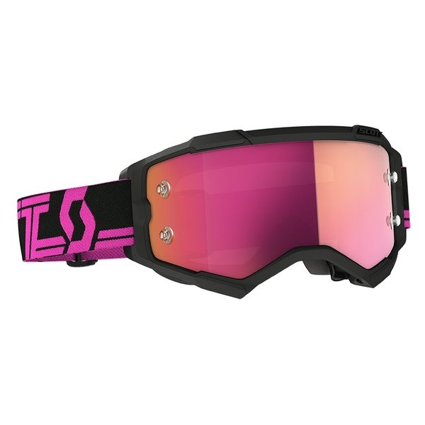 Goggle Fury Black/Pink Pink Chrome Works