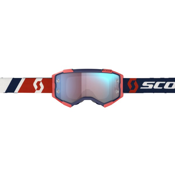Goggle Fury Red/Blue Blue Chrome Works