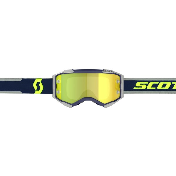 Goggle Fury Blue/Grey Yellow Chrome Works