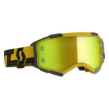 Goggle Fury Yellow/Black Yellow Chrome Works