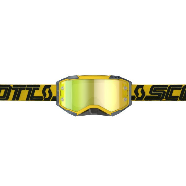 Goggle Fury Yellow/Black Yellow Chrome Works