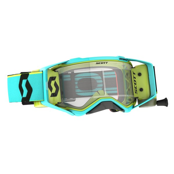 Goggle Prospect WFS Teal Blue/Yellow