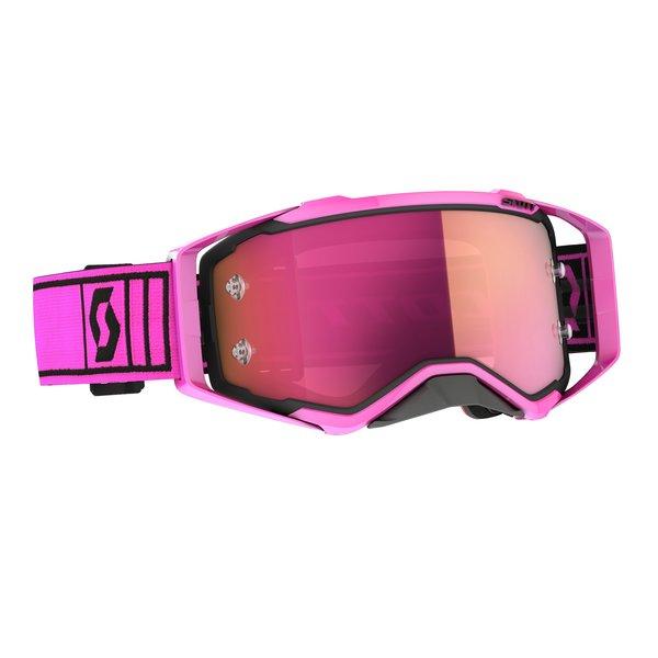 Goggle Prospect Pink/Black Pink Chrome Works