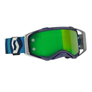 Goggle Prospect Blue/Green Green Chrome Works