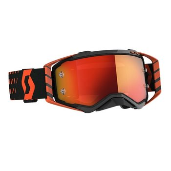Goggle Prospect Orange/Black Orange Chrome Works