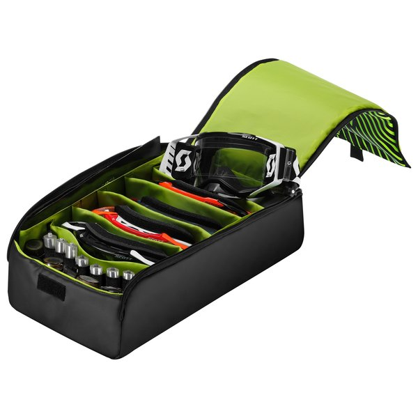 Goggle Case ( Fits 5 Roll Off Goggles ) Black/Neon Yellow