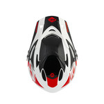 BMX Down Hill Helmet White Red