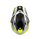 BMX Down Hill Helmet Neon Yellow Silver 2021