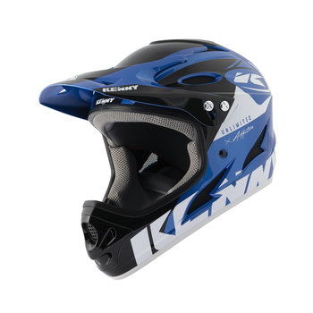 BMX Down Hill Helmet Blue Black 2021